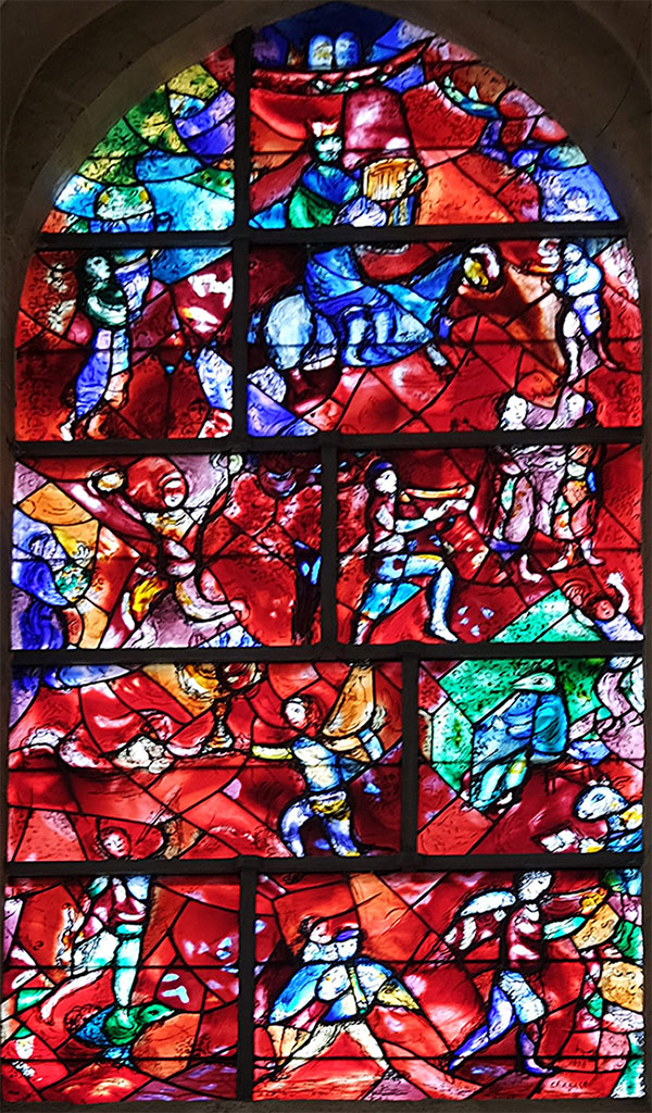 Chagall window, Chichester